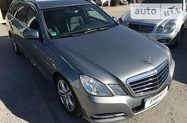 Mercedes-Benz E 220 Avantgarde 2012