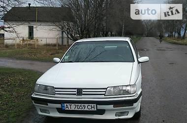 Peugeot 605 SRI 1990
