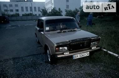 ВАЗ 2107 21072 1.3 1989