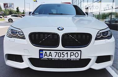 BMW 520 twin-turbo 2013