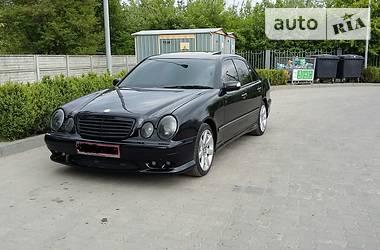 Mercedes-Benz E 55 AMG 2002