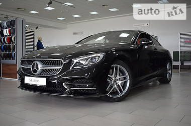 Mercedes-Benz S 450 4MATIC coupe 2018