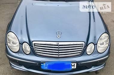 Mercedes-Benz E 200 AMG. Kompressor 2004