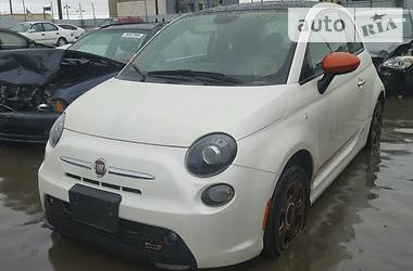 Fiat 500 ELECTRIC 2015