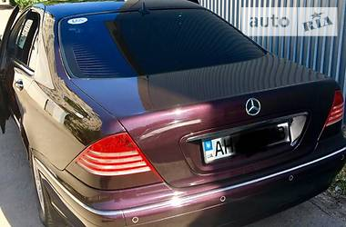Mercedes-Benz S 430 220 1999