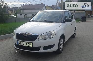 Skoda Fabia 1.4 газ/бензин 2013