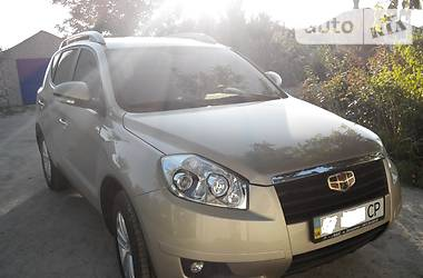 Geely Emgrand X7 Emgrand X7 2014