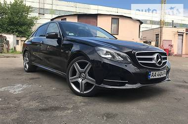 Mercedes-Benz E 250 CDI 4matic 2013