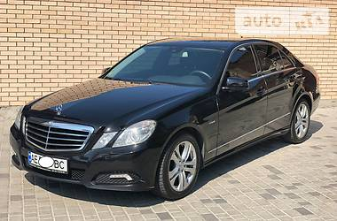 Mercedes-Benz E 200 Avantgarde CGI 2010