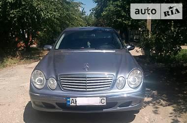 Mercedes-Benz E 270 CDI 2002