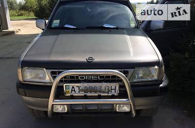 Opel Frontera фронтера 2.3тди 1992