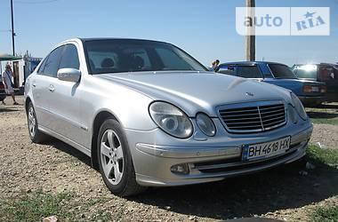Mercedes-Benz E 240 Avantgarde 2002