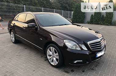 Mercedes-Benz E 220 Avantgarde 2009