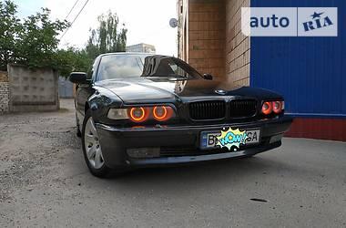 BMW 740 BLACK 2000
