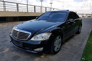 Mercedes-Benz S 500 w221 4matic 2008