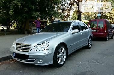 Mercedes-Benz C 180 sport edition 2006