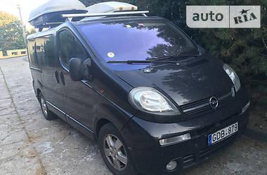 Opel Vivaro пасс.  2003