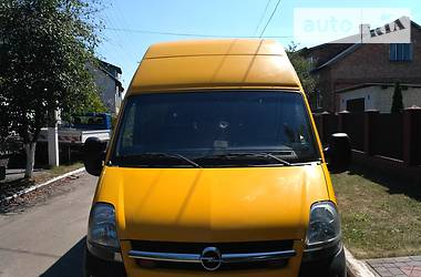 Opel Movano пасс. l3h3 2006