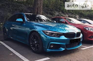BMW 4 Series Gran Coupe 420i  (f36)Restyling 2017