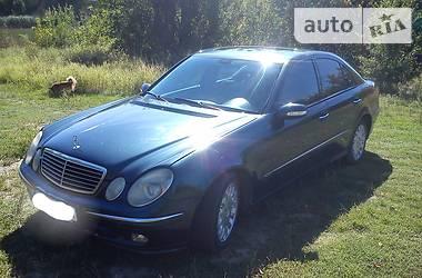 Mercedes-Benz E 270 Avantgarde 2002