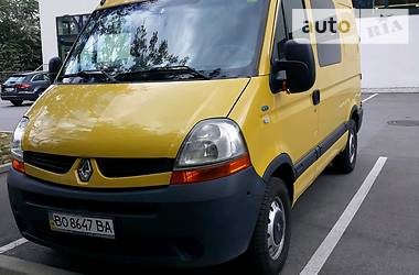 Renault Master пасс. 2007