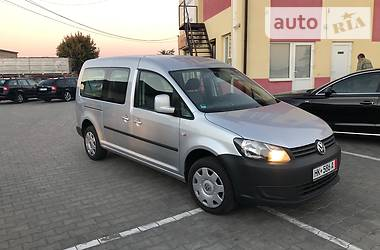 Volkswagen Caddy пасс. Long 2012