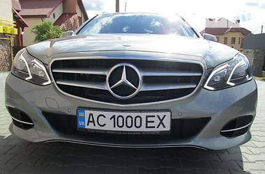 Mercedes-Benz E 250 LED FULL 4-MATIC 2014