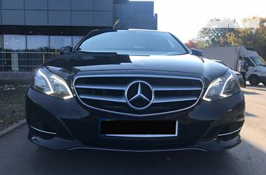 Mercedes-Benz E 250 4 MATIC 2014