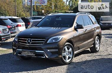 Mercedes-Benz ML 350 AMG Bluetec 2014