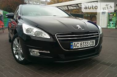 Peugeot 508 2.0 HDi 4WD 2013