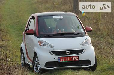 Smart Fortwo ED 451 electric drive 2014
