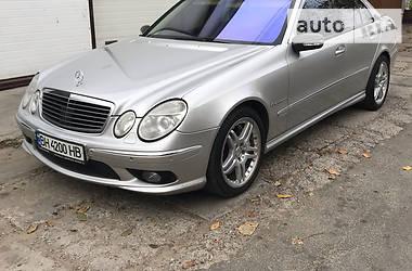 Mercedes-Benz E 55 AMG kompressor 2003