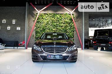 Mercedes-Benz E 200 CDI 2013