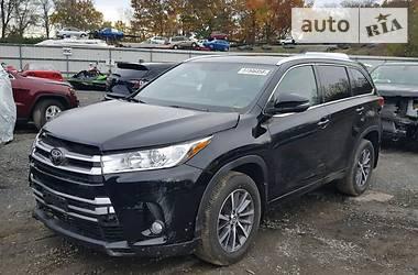 Toyota Highlander 3.5 SE 2018