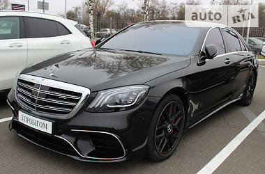 Mercedes-Benz S 500 Long 4matic AMG 2014