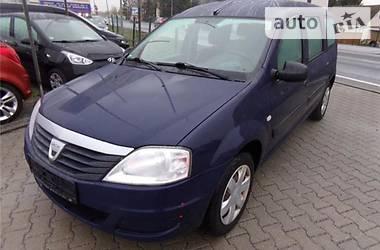 Dacia Logan MCV  1.6i-7мест 2012
