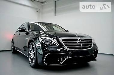 Mercedes-Benz S 63 AMG Long 4Matic 2018