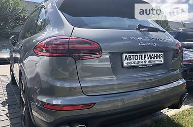 Porsche Cayenne 4.2d PlatinumEdition 2017
