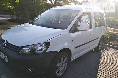 Volkswagen Caddy пасс. Trendline Blumotion свіжа з Німеччини 2012