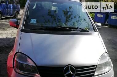 Mercedes-Benz Vaneo минивен 2002