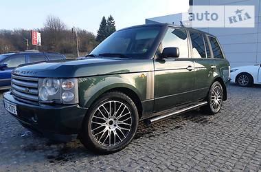 Land Rover Range Rover autobiography editio 2004