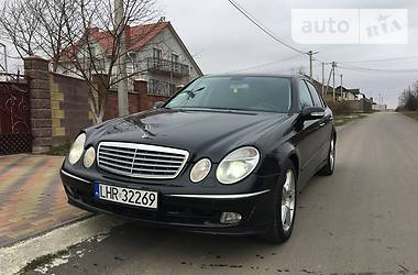 Mercedes-Benz E 270 Avantgarde 2002