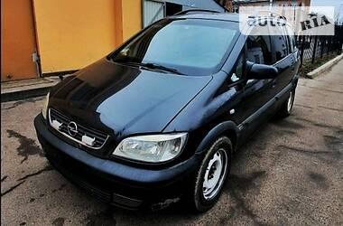 Opel Zafira минивэн 7 мест 2002