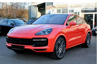 Porsche Cayenne Coupe Turbo  Matrix 2019