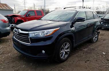 Toyota Highlander XLE 2015