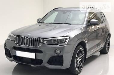 BMW X3 xDrive35d M pak 2017