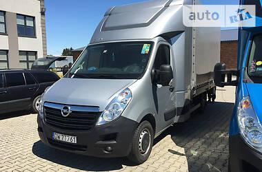 Opel Movano груз. TwinCab. 8 pallet 2017
