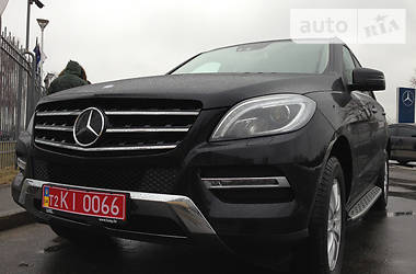Mercedes-Benz ML 350 CDI Blue-Tec 2015
