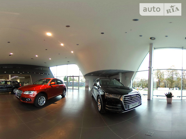 Audi Центр Львів на Липинського