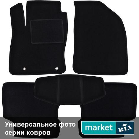 Коврики в салон Virtus Ciak (Низкий ворс) из ворса (черные) для Audi A4 2000-2005: фото - MARKET.RIA
